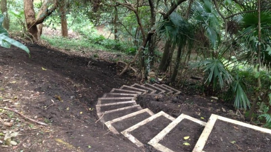photo 3: Backyard Adventure Trail Project