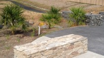 Stone Bench thumbnail: Mt Kembla Mine Memorial Pathway (Stage 2) and American Creek Rehabilitation Works Project