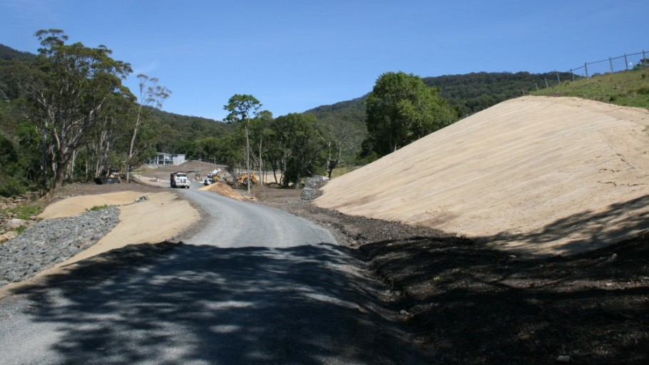 Beginning the Project: Mt Kembla Mine Memorial Pathway (Stage 2) and American Creek Rehabilitation Works Project