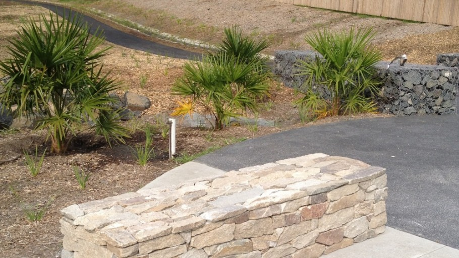 Stone Bench: Mt Kembla Mine Memorial Pathway (Stage 2) and American Creek Rehabilitation Works Project