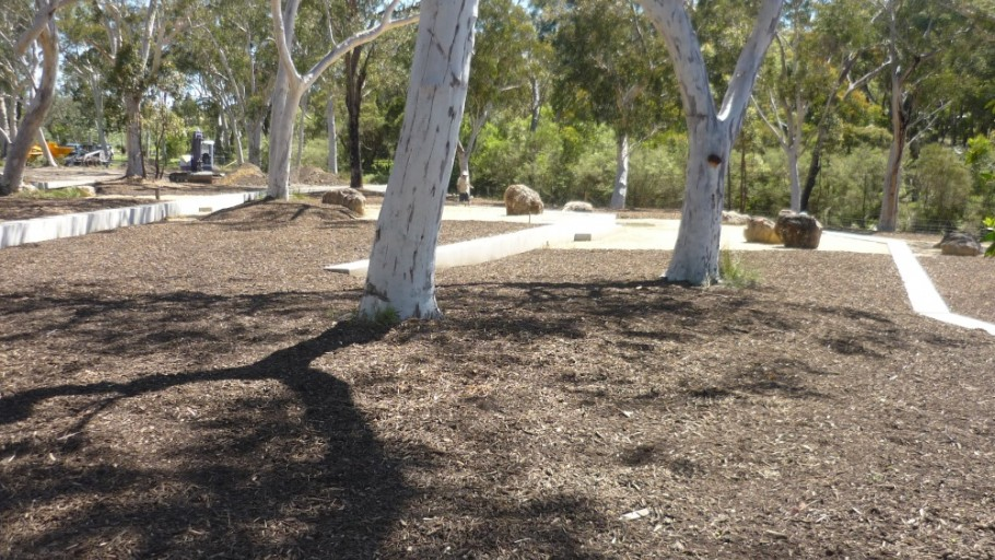 Planting of Mature Trees: Rural Landscaping  Project